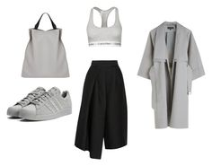 "MINIMAL + CLASSIC: ""Untitled #159"" by generation-of-fashion featuring Calvin Klein Underwear, adidas, Jil Sander and TIBI"