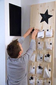 Idées pour créer un joli Calendrier de l'Avent - DIY