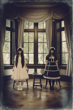 """rai-takayama: """" Photo rai-takayama Model Roa and Raeru """""""