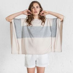 Another new favorite from Leo & Sage. NEED. #leoandsage #knit #poncho #top #colorblock #sp16 #spring #love #willow #willowboulder #willowmusthave #newarrivals