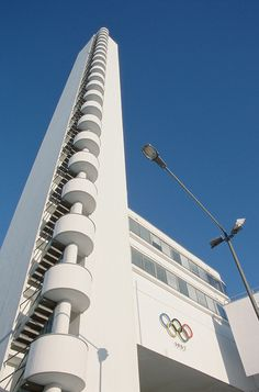 Helsinki Olympic Stadium Tower.  I still can't believe I went to the top of this and looked out over the city.  Great memory!