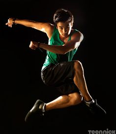 """Jordan Rodrigues portrays the character of Christian in the tv show """"Dance Academy""""........season 3 starts July 8th 2013."""