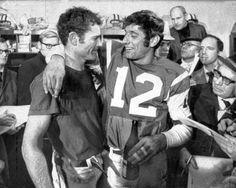 Don Maynard & Joe Namath - NY Jets