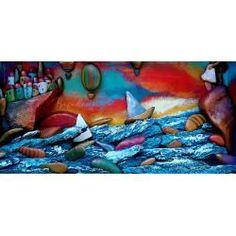 il tramonto struggente - Pebbleart Cross Stitch Freebies, Pebble Art, Beach Mat, Opera, Outdoor Blanket, Drawing, Painting, Opera House, Free Cross Stitch Patterns
