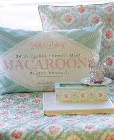 New GreenGate collection Autumn/Winter 2013: Winter Feelings Cushion  Covers Macaroon and Phoebe