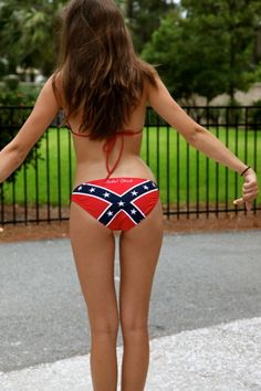 49dab72dcc wanna get a rebel flag bathing suit Southern Girls