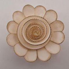Vintage Flower Tutorial (Cricut project) Cricut Cartridge - Flower Shoppe