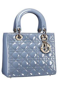 Blue Lady Dior Bag