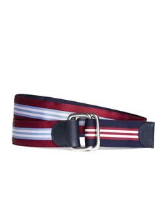 Brooks Brothers Social Primer Reversible Ribbon Belt