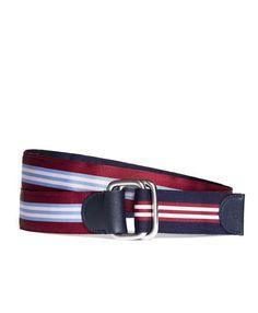 Brooks Brothers Social Primer Reversible Ribbon Belt
