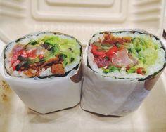 The Geisha's Kiss: Sushirrito, San Francisco | 21 Magical Burritos Across America That You Need To Try