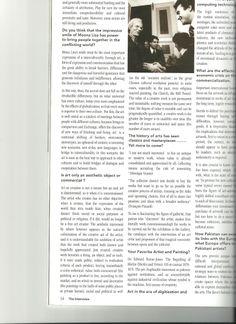 Interview with Raffaele Torelli by Khurram Hameed