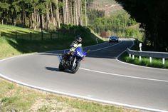 Motorrad fahren im Sauerland