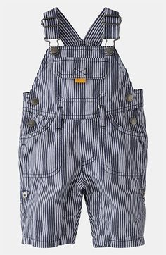 Mini Boden 'Everyday' Overalls (Infant) available at Nordstrom