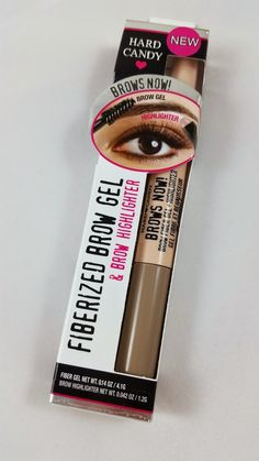 Hard Candy Brows Now Fiberized Brow Gel Review | The Budget Beauty Blog