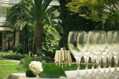 The park of the Resort is the right setting for celebrations.
