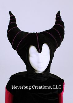Items similar to Maleficent Costume (Animated Version) on Etsy Maleficent Costume Kids, Movie Halloween Costumes, Toy Story Costumes, Black Satin, Black Cotton, Peter Pan Costumes, Mad Tea Parties, Kids Costumes Girls, Purple Fabric
