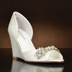 by David Tutera. Choose from the largest selection of wedding shoes from top designers at My Glass Slipper. In-stock styles ship same day. Mint Wedding Shoes, Designer Wedding Shoes, Shoe Sites, David Tutera, Wedding Looks, Wedding Stuff, Wedding Ideas, Glass Slipper, My Glass