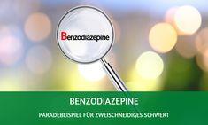 Benzodiazepine: Paradebeispiel für zweischneidiges Schwert Trauma, Measuring Cups, Blog, Alcohol, Half Life, Central Nervous System
