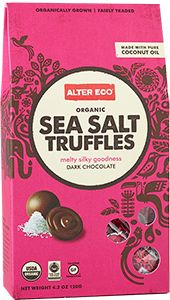 These truffles can only be described as melty silky goodness. Made with #FairTrade ingredients, these Sea Salt Truffles both taste good and do good! This is a great gift to give to that special someone on #ValentinesDay