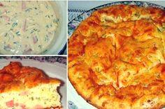 Tartă cu cașcaval și ceapă ca la bunica. Pot s-o mănânc chiar în fiecare zi! - Bucatarul Quiche, Mashed Potatoes, Pizza, Breakfast, Ethnic Recipes, Desserts, Food, Fine Dining, Pie