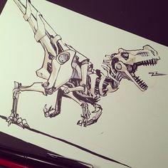 Robo-raptor                                                                                                                                                                                 Mais