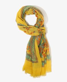 Paisley Print Scarf | FOREVER21 - 1017307587 - $8.80