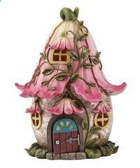 Look at this Pink Fairy House Figurine - Loving Crafts. - Look at this Pink Fairy House Figurine – Loving Crafts - Clay Fairy House, Fairy Garden Houses, Polymer Clay Fairy, Polymer Clay Crafts, Illustration Inspiration, Clay Fairies, Clay Houses, Fairy Doors, Miniature Fairy Gardens
