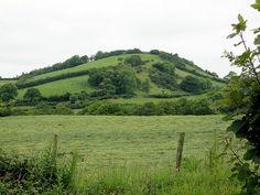 Bryn Myrddin. Merlin's Hill near Carmarthen (Caerfyrddin) is said to be Merlin's birthplace.