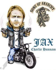 Charlie Hunnam as Jax.