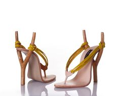 """giving a new definition to """"sling back"""" heels"""