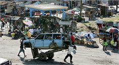 http://www.earthyfamily.com/H-issues.htm It has been estimated that as much as 75% of the Haitian population is living in absolute poverty.