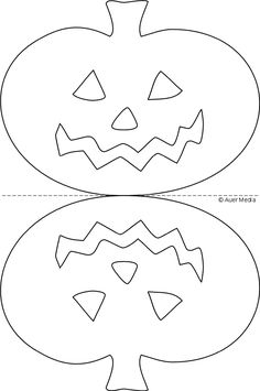 :: Games Crafts Coloring :: Halloween Wall Decor, Halloween Decorations For Kids, Halloween Party Decor, Halloween Diy, Moldes Halloween, Halloween Templates, Adornos Halloween, Sally Nightmare Before Christmas, Kindergarten Christmas Crafts