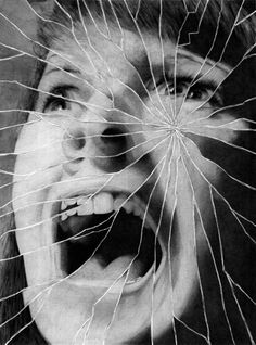 shattered mirror drawing – Homes Tips Distortion Photography, Mirror Photography, B&w Wallpaper, Art Alevel, Reflection Art, Ghost In The Machine, A Level Art, Wow Art, Gcse Art
