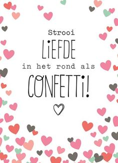 Liefde als confetti