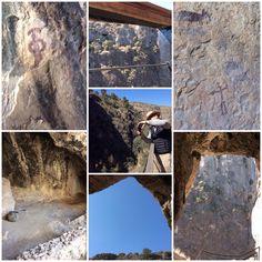 Cueva de la Serreta y pinturas rupestres del neolitico Cieza Murcia
