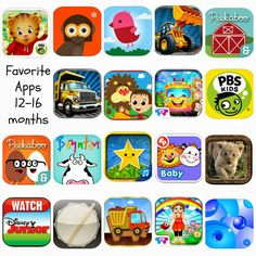 Favorite Apps for Toddlers - 12-16 Months - Running from the Law
