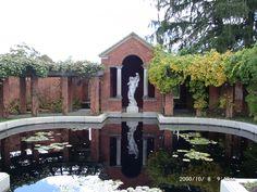 Eleanor Rosevelt's Rose Garden, Hyde Park NY.