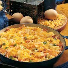 Breakfast Mess Recipe, Breakfast Time, Breakfast Recipes, Breakfast Ideas, Breakfast Casserole, Spam Recipes, Gourmet Recipes, Cooking Recipes, Healthy Recipes