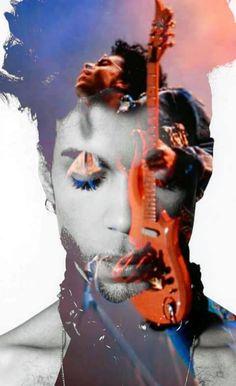 Very cool Prince fan art.