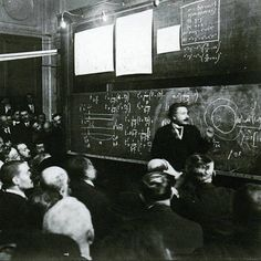 """""""Steve Jacobs theorizes that the universe did NOT create itself over billions and billions of years."""": https://plus.google.com/u/0/+SteveJacobsofEarle/posts/d285u3UUSFe #AlbertEinstein #Doc #Homer #Theories #Chalkboards #Wisdom"""