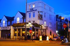"""A """"proper neighbourhood"""" London pub has been named Michelin Pub of the Year - the first time the accolade has gone to the capital. The Marksmanin Hackney beat competition from more than 500 pubs around the UK and Ireland that are featured in the latest Michelin Eating Out In Pubs Guide."""