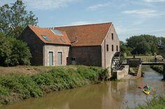 Watermolen Zichem, halte voor een pitoreske kanotocht door de Demerbroeken