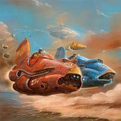 concept ships: MONTHLY HEADER #93: Alejandro Burdisio