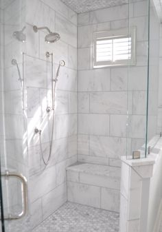 Remodeling Your Bathroom: Choosing Your New Toilet Master Bathroom Shower, Upstairs Bathrooms, Bathroom Renos, Bathroom Renovations, Bath Shower, Bathroom Cabinets, Bad Inspiration, Bathroom Inspiration, Br House