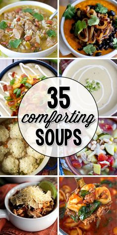 35 Warm and Comforting Soup Recipes