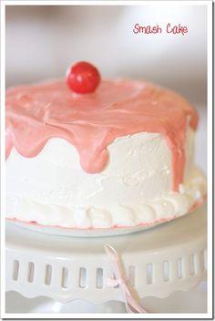 cake idea Cupcake Cakes, Cupcakes, Just Cakes, Cherry On Top, Cake Smash, Let Them Eat Cake, Yummy Cakes, Baked Goods, Cake Decorating