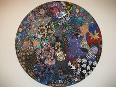 """Nick Cave - Universe (2004) Found, beaded & sequined fabric...Quilt work. """"Using found objects - the discarded, the recycled, the scraps and the remnants - Cave transforms the materials into an object of immense beauty that engages, inspires and encourages us,..."""""""