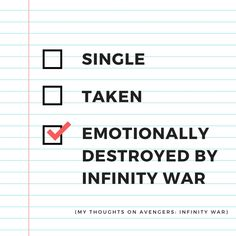 My Thoughts on Avengers: Infinity War (Spoiler-Free) – Chloe's Secret World