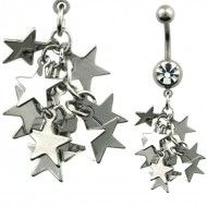 Wholesale Body Multi-Star N221 Product Code: N221 Belly Rings, Coding, Stars, Belly Button, Belly Button Piercing, Belly Button Rings, Programming, Belly Piercings
